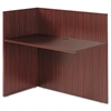 Alera Alera Valencia Reversible Reception Return, 44w x 23 5/8d x 41 1/2h, Mahogany