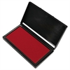Cosco Microgel Stamp Pad for 2000 PLUS, 2 3/4 x 4 1/4, Red