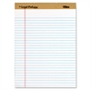"""The Legal Pad"" Ruled Perforated Pads, Legal/Wide, 8 1/2 x 11 3/4, White, Dozen"
