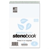 Enviroshades Steno Notebook, Gregg, 6 x 9, Blue, 80 Sheets, 4/Pack