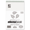 Enviroshades Steno Notebook, Gregg, 6 x 9, Gray, 80 Sheets, 4/Pack