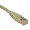CAT5e Molded Patch Cable, 2 ft., Gray