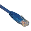 Tripp Lite CAT5e Molded Patch Cable, 100 ft., Blue