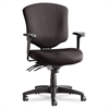 Alera Wrigley Pro Series Mid-Back Multifunction Chair, Black