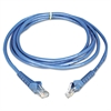 Tripp Lite CAT6 Snagless Molded Patch Cable, 14 ft, Blue