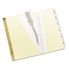 Avery Insertable Clear Tab Dividers for Data Binders, 6-Tab, 11 x 9 1/2