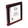 "Avery Framed View Heavy-Duty Binder w/Slant Rings, 1/2"" Cap, Maroon"