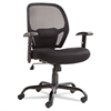 Merix Series Mesh Big/Tall Mid-Back Swivel/Tilt Chair, Black
