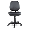 Alera Alera Interval Series Swivel/Tilt Task Chair, Leather, Black