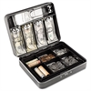 Steelmaster Cash Box w/Combination Lock, Charcoal