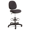 Alera Alera Interval Series Swivel Task Stool, 100% Acrylic, Black