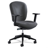 Rae Series Synchro-Tilt Task Chair, Charcoal
