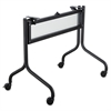 Impromptu Series Mobile Training Table Base, 37-1/2w x 24d x 28h, Black