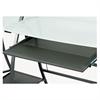 Safco Xpressions Keyboard Tray, Steel, 23-1/2w x 15-1/4d, Black