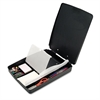 "Officemate Extra Storage/Supply Clipboard Box, 1"" Capacity, 8 1/2 x 11, Charcoal"