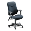 Mayline Comfort Series Executive Posture Chair, Gray Fabric