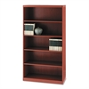 Aberdeen Series Five-Shelf Bookcase, 36w x 15d x 68-3/4h, Cherry