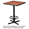"Mayline Hospitality Table ""X"" Pedestal Base, 41"" High, Black"