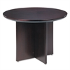 Corsica Conference Series Round Table, 42 dia. x 29-1/2h, Mahogany