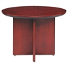 Mayline Corsica Conference Series Round Table, 42 dia. x 29-1/2h, Sierra Cherry