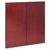Mayline Corsica Series Veneer Dry Erase Presentation Board, 48 x 48, Sierra Cherry Frame