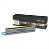 Lexmark X925H2YG High-Yield Toner, 7,500 Page-Yield, Yellow