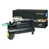 Lexmark C792X2YG Extra High-Yield Toner, 20,000 Page-Yield, Yellow