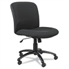 Uber Series Big & Tall Swivel/Tilt Mid Back Chair, Black