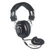 AmpliVox Deluxe Stereo Headphones w/Mono Volume Control, Black