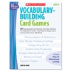 Vocabulary Building Card Games, Grade Six, 80 pages
