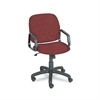 Safco Cava Urth Collection High Back Swivel/Tilt Chair, Burgundy