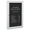 "Best-Rite Enclosed Directory Board, 24""w x 36""h, Aluminum Frame"