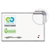 Best-Rite Porcelain Dry Erase Board, 72x48, Silver Aluminum Frame