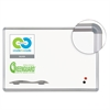 Best-Rite Porcelain Dry Erase Board, 36x24. Silver Aluminum Frame