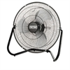 Patton High Velocity Fan, Three-Speed, Black