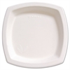"Bare Eco-Forward Sugarcane Dinnerware, 8 1/4"" Plate, Ivory, 125/Pk"