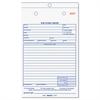 Rediform Job Work Order Book, 5 1/2 x 8 1/2, Two Part Carbonless, 50/Book