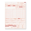 Paris Business Products UB04 Claim Forms, 8 1/2 x 11, 2500 Forms