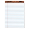 """The Legal Pad"" Ruled Perforated Pads, 8 1/2 x 11 3/4, White, 50 Sheets"