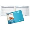 Ekonomik Home/Office Budget Book, 56 Pages, 10 1/4 x 7 1/4, Aqua Leatherette Cover