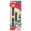 Pentel Super Hi-Polymer Lead Refills, 0.9mm, HB, Black, 30/Tube, 3 Tubes/Pack