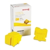Xerox 108R00928 Solid Ink Stick, Yellow, 2/Box