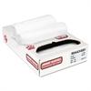 Jaguar Plastics Super Extra-Heavy Bags, 56gal, 16mic, 43 x 48,Natural, 25 Bags/Roll, 8 Rolls/CT