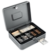Steelmaster Security Box w/Media Slot, Cam Key Lock, Charcoal