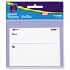 "Label Pads, ""From/To"", Permanent, 3 x 4, White, 40/Pack"