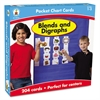 Carson-Dellosa Publishing Blends and Digraphs Cards for Pocket Chart, 4 x 2 3/4, 204 Cards, Ages 4-5