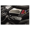 AutoExec GripMaster 02 Efficiency Auto Desk w/ Writing Surface & Supply Organizer, Gray