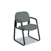 Cava Urth Collection Sled Base Guest Chair, Gray