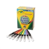 Crayola Washable Paint Brush Pens, 8 Assorted Colors, 40/Box