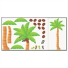 TREND Palm Tree Bulletin Board Set, 46w x 72h
